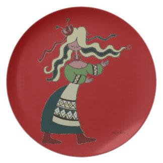 Little Ukrainian Dancer Plate