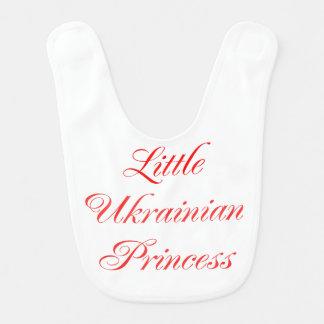 Little Ukrainian Princess baby girl bib