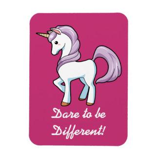 Little Unicorn Rectangular Photo Magnet