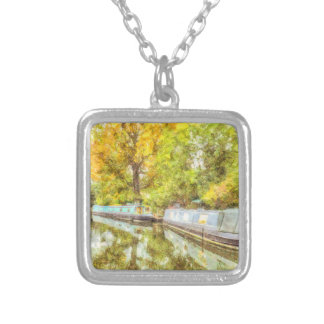Little Venice Art Silver Plated Necklace