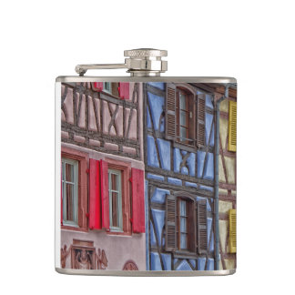 Little Venice in Colmar Hip Flask