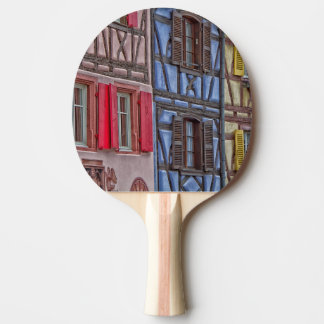 Little Venice in Colmar Ping Pong Paddle