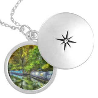 Little Venice London Van Gogh Silver Plated Necklace