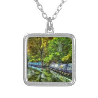 Little Venice London Van Gogh Silver Plated Necklace