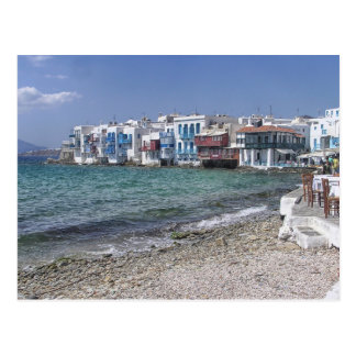 Little Venice Mykonos Postcard