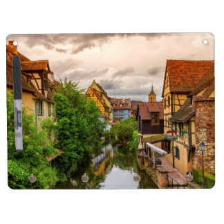 Little Venice, petite Venise, in Colmar, France Dry Erase Board With Key Ring Holder