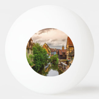 Little Venice, petite Venise, in Colmar, France Ping Pong Ball