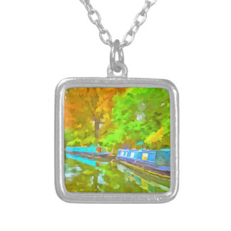 Little Venice Pop Art Silver Plated Necklace