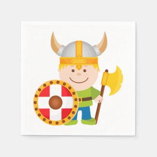 Little Viking Disposable Napkin