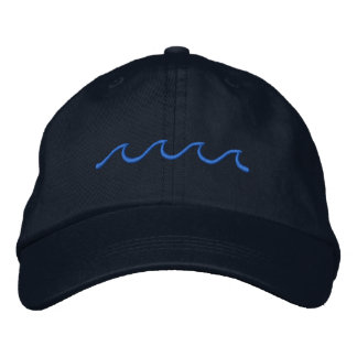 Little Waves Embroidered Hats