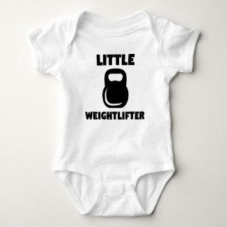 Little Weightlifter Kettlebell Baby Bodysuit