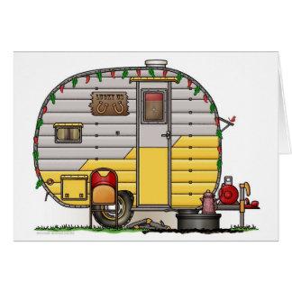 Little Western Camper Trailer Greeting Card