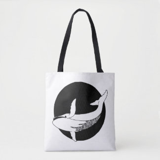 Little Whale Tote Bag