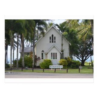 Little white chapel postcard