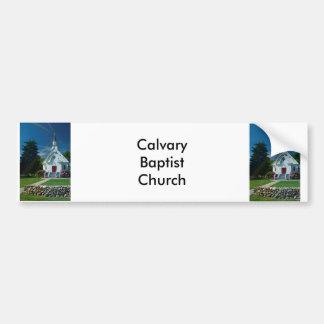 Little White Church Bumper Stickers