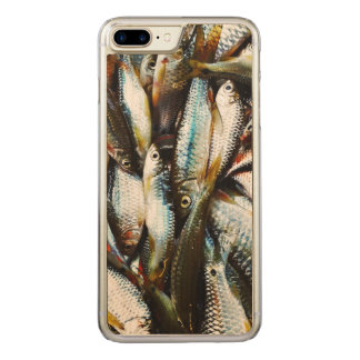 Little White Fish Carved iPhone 7 Plus Case