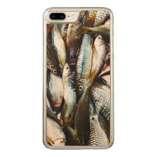 Little White Fish Carved iPhone 8 Plus/7 Plus Case