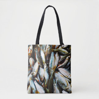 Little White Fish Tote Bag
