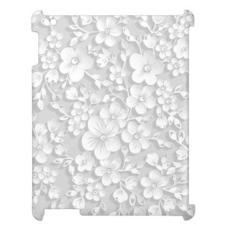 Little White Flowers Cover For The iPad 2 3 4