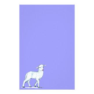 Little White Lamb Stationery
