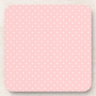 Little White Polka Dots Coasters