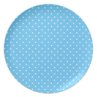 Little White Polka Dots Party Plates