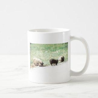 Little Wild Pigs Sketch Mug
