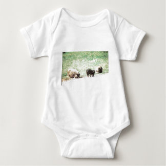 Little Wild Pigs Sketch Tee Shirts