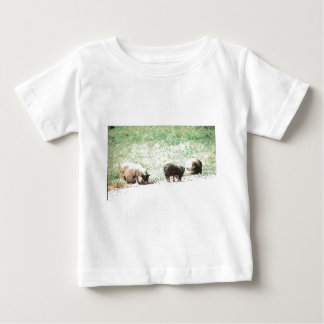 Little Wild Pigs Sketch T-shirts