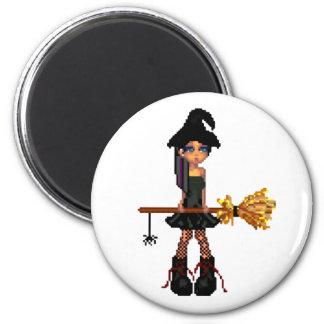 Little Witch Fridge Magnet