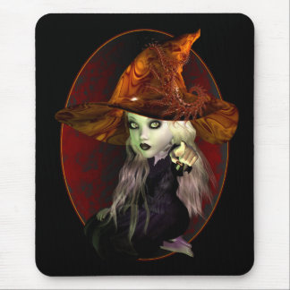 Little Witch Mouse Pad