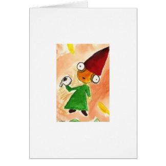 Little Wizard Birthday Card