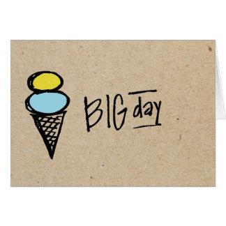little wobblies big day note card