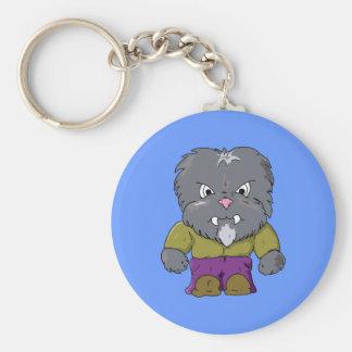 Little Wolfman Key Ring