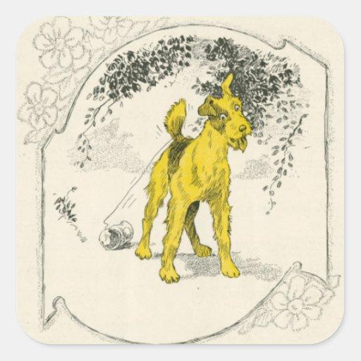 Little Yaller Dog Sticker
