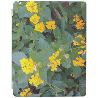 LITTLE YELLOW FLOWERS iPad COVER