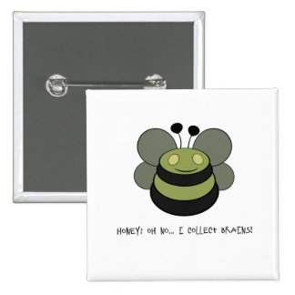Little Zombee 15 Cm Square Badge