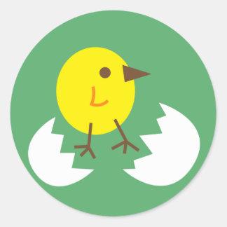 LittleChicken11 Round Sticker