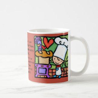LittleGirlie loves to bake artisan bread bakery Coffee Mug
