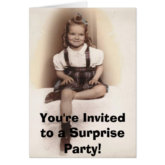 littlejane, You're Invited to a Surprise Party! Card