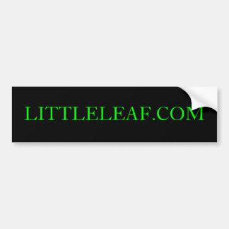 LITTLELEAF.COM Bumper Sticker