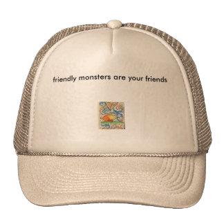 littlemonster, friendly monsters are your friends cap