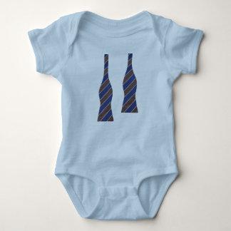 Littlest bow tie baby bodysuit
