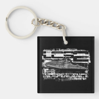 Littoral combat ship Independence Acrylic Keychain
