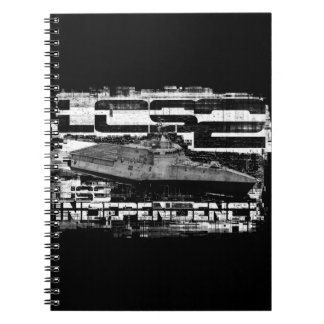 Littoral combat ship Independence Spiral Photo No Spiral Notebook