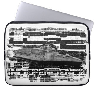 Littoral combat ship Independence Template WT Lap Laptop Sleeve