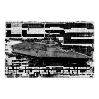 Littoral combat ship Independence Template WT Pos Poster