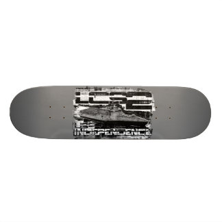 Littoral combat ship Independence Template WT Ska 21.6 Cm Old School Skateboard Deck