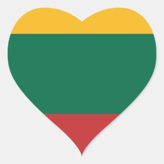Lituania Heart Sticker
