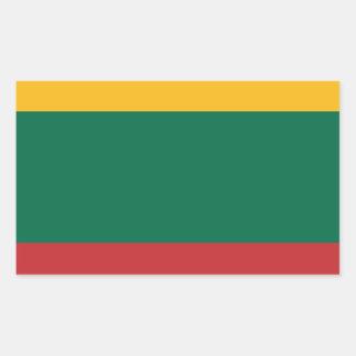 Lituania Rectangular Sticker